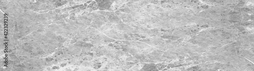 Billede på lærred Gray grey white abstract marble granite natural stone texture background banner