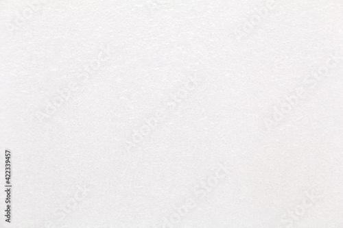 Fototapeta Closeup white blank foam plastic texture background. White styrofoam. obraz