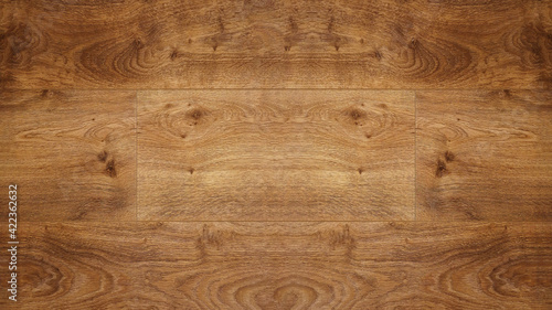 Obraz old brown rustic dark grunge wooden boards oak parquet texture - wood wall background - fototapety do salonu