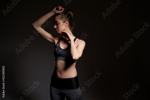 Obraz premium Women in the gym