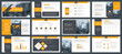 Powerpoint and keynote presentation slides design template. Elements of infographics for presentations templates, annual report, leaflet.Corporate report, advertising template in vector Illustration.