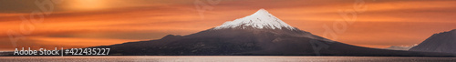 Volcan Volcano Osorno Chile Panorama