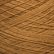 Colored Yarn Threads Brown Macro