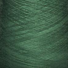 Colored Yarn Threads Green Macro