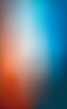 Blurred Large Panoramic Summer Background Multicolored Gradient