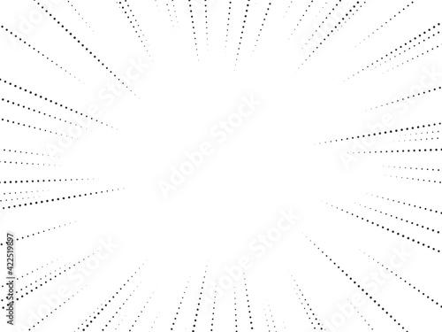 Fotografia 集中線のベクター素材