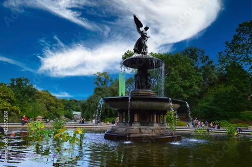 фотография Bethesda Fountain, NYC