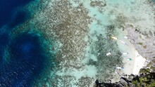 Aerial View From Palawan, Philipines - Created By Dji Camera