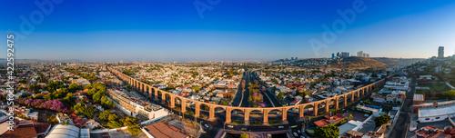 Panoramic View form Los Arcos, Querétaro, México Fototapet