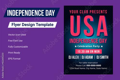 Fototapeta United states of america independence day