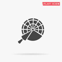 Engine Order Telegraph Flat Vector Icon. Hand Drawn Style Design Illustrations