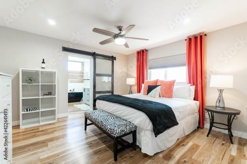 Fotografering Intierior Modern Bedroom