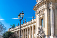 Paris, The «Grand Palais», Beautiful Building In A Chic Area Of The French Capital