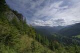 Fototapeta Na ścianę - tatry widok z nosal chmury