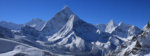 Mount Ama Dablam After New Snowfall.