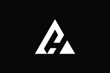 CH Logo Letter Design On Luxury Background. HC Logo Monogram Initials Letter Concept. CH Icon Logo Design. HC Elegant And Professional Letter Icon Design On Black Background. H C CH HC