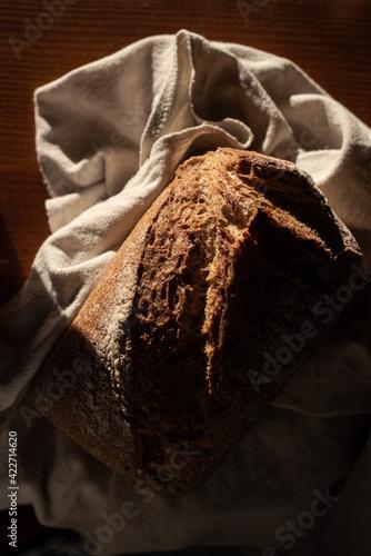 Fotografie, Obraz Little rustic bread
