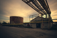 Details And Environments Of Abandoned Industry
