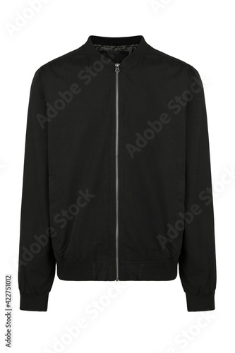 Canvas black man's jacket