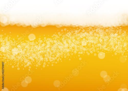 Canvas Craft beer background. Lager splash. Oktoberfest foam.