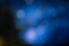 Fundo Azul Desfocado