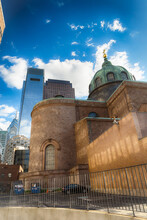 Cathedral Basilica Of Sts Peter And Paul Of Philadelphia Pennsylvania USA. It Is Also Called As Roman Catholic Archdiocese Of Philadelphia.