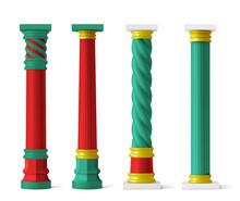 Chinese Pillars For Pagoda And Gazebo