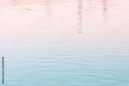 Fototapeta 港の水面 obraz