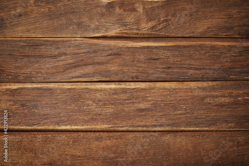 Fototapeta brown wood texture, dark wooden background for design obraz na płótnie