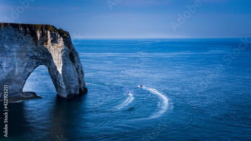 Fotografie, Obraz Les falaises d'Etretat