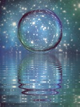 Crystal Ball On The Water