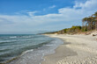 canvas print picture - Weststrand am Darss
