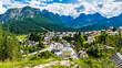 Leinwandbild Motiv Summer glimpses along the paths of Sappada. Friuli. Dolomites