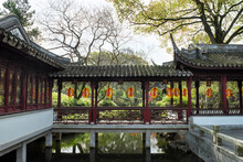 Landscape Of Classical Garden In Shanghai, China