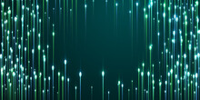 Abstract Glowing Line Rays Speed Motion Vector.