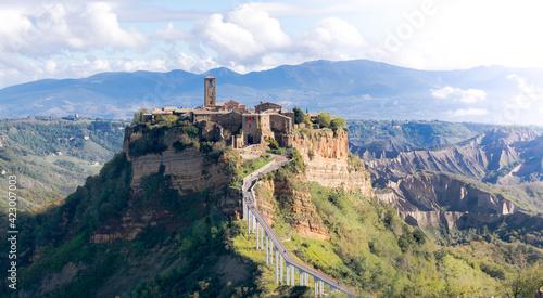 The old town Civita di Bagnoreggio