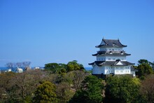 Odawara Castle In Kanagawa Prefecture, Japan - 小田原城 神奈川 日本