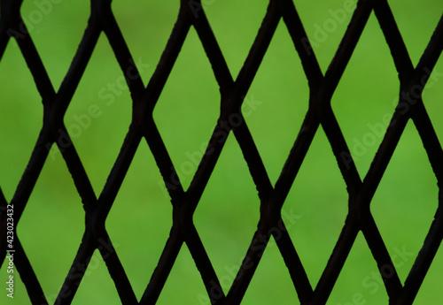 alambrado reja abstracto verde dividir separar