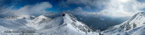 Tela Winter landscape in Austrian alps
