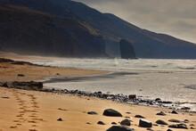 Plaża Roque Del Moro Na Wyspie Fureteventura