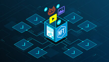 NFT Digital Artworks And Code In The Blockchain