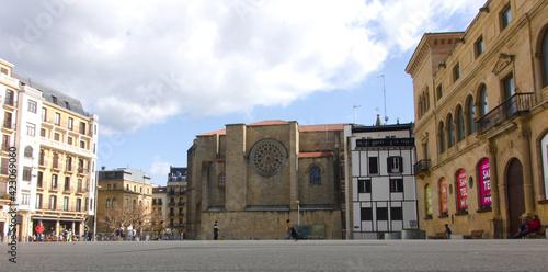 Papel de parede Parte vieja Donostia