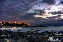 Rocky Purple Beach