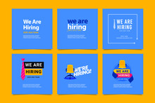 We Are Hiring, Join Our Now Design Template.
