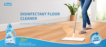Disinfectant Floor Cleaner Ads