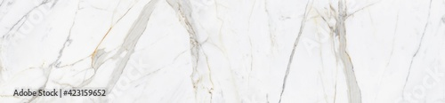 Obraz White marble texture background, abstract marble texture (natural patterns) for design. - fototapety do salonu