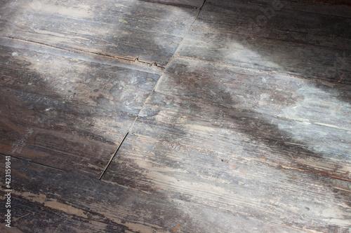 Billede på lærred Stone or concrete wall and floor with backstreet like lighting.