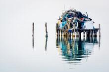 Casa Di Pesca A Pellestrina Nella Laguna Di Venezia