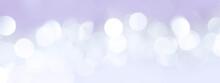 紫の背景に光の玉が光る(背景素材)