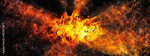 Fotografie, Obraz 爆発する炎